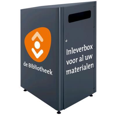 Inleverbox Bob sticker