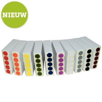 Kleurstippen 12 mm