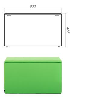 The Box 800x400x465