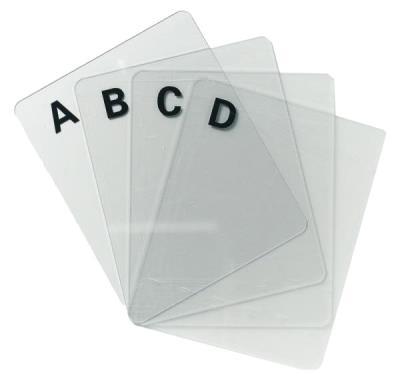 CD/DVD-indextabs A-Z