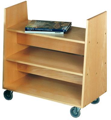 Verrijdbare boekenkast Cantlow
