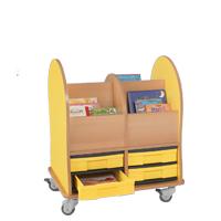 Prentenboekenwagen midi 4 M