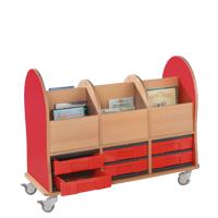 Prentenboekenwagen midi 6 M
