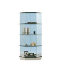 Trapezium vitrine H150