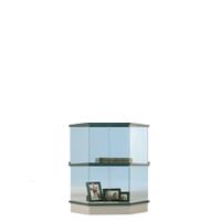 Trapezium vitrine H080
