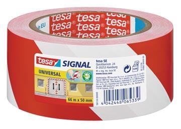 TESA SIGN TAPE 50MMX66M RD/WT