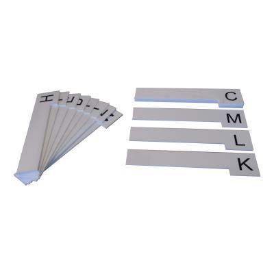Alfabetbord L-vorm