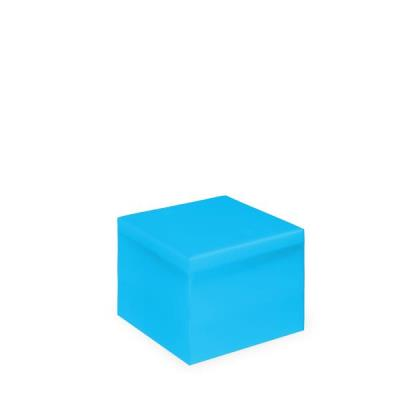 Vierkante poef