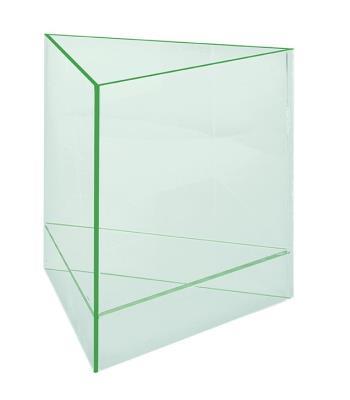 Driehoekige presentatiebox