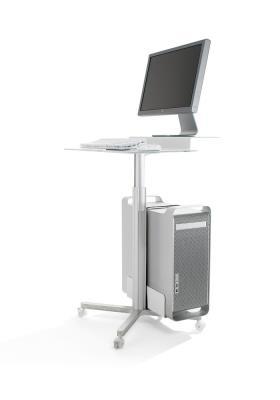 Mixx, presentatiestandaard met extra legplank voor vaste PC