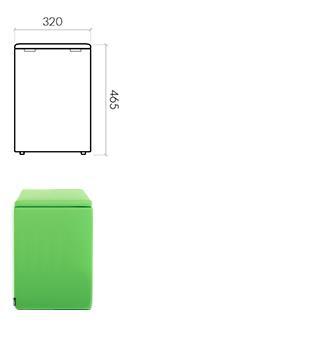The Box 320x320x465