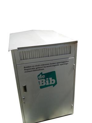Inleverbox buiten + veerbodemwagen
