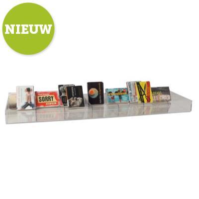 Dwarsligger legbord display B75 cm