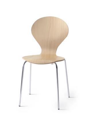Rondo stapelstoel