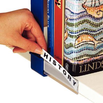 Etikethouders voor legborden, opening aan voorkant