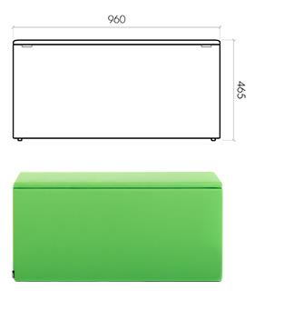 The Box 960x320x465