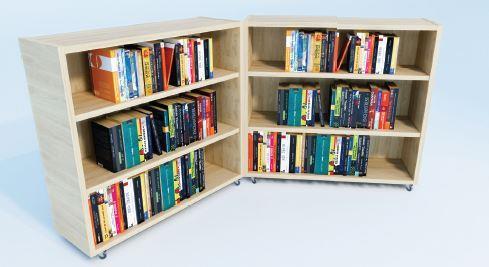 Klap boekenkast XL
