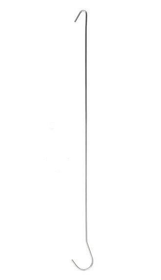 Plafondhaak ø 2 mm 500 mm - set van 2 stuks