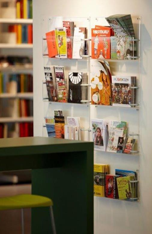 Foto Op Wand.Brochurehouder Voor Op Wand Biblioshop Nl
