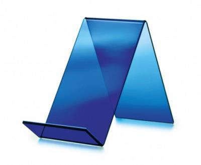 Boekenstandaard, laag model blauw
