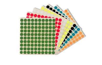 Vlekkie - Zelfklevende kleurmarkeringen