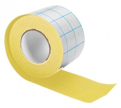 Filmoplast T - 0384 Tape geel 80 mm x 10 m
