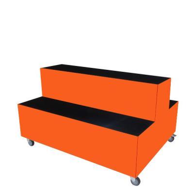 Foxis displaymeubel oranje
